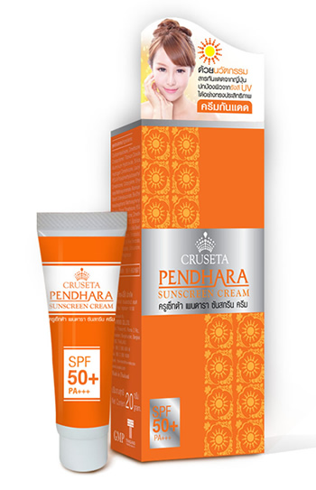 CRUSETA Pendhara Sunscreen Cream